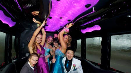 Long Island Prom Party Bus